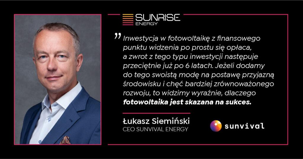 Podsumowanie 2020 - Łukasz Siemiński - Sunvival. Prognozy i analizy.